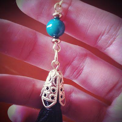 Tassel earring Fat Pandora