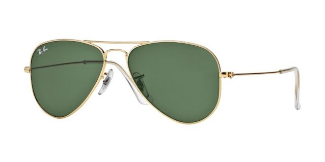 Ray-Ban RB3044 L0207 52-14 AVIATOR SMALL Gold sunglasses   Official Online  Store 4b0b547752