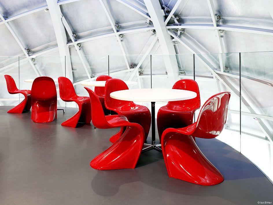 sonali shinha on pantone panton chair and interiors