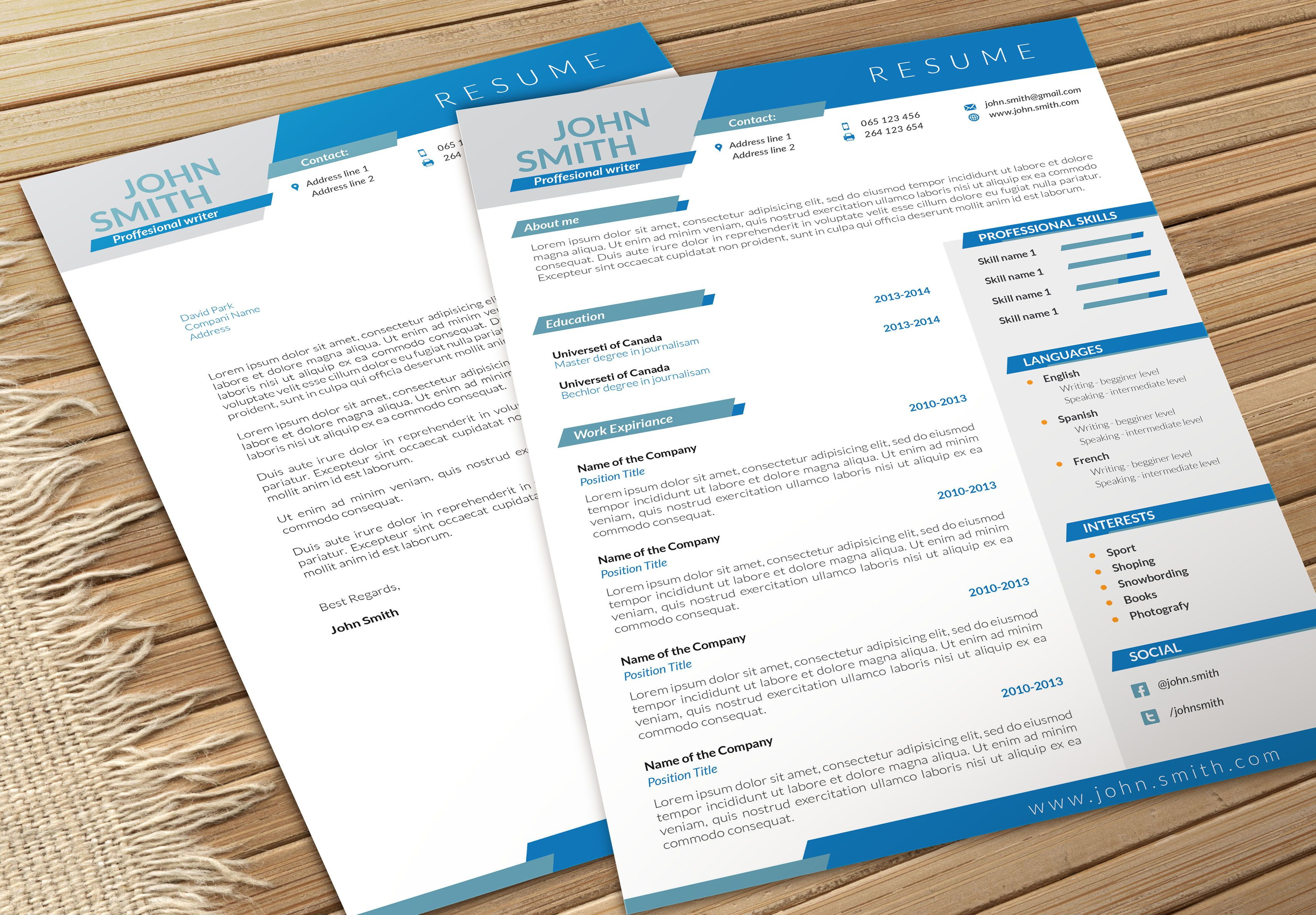 Looking For Resume Dynamic Cvresume And Cover Letter  Cv Resume Template Cover .