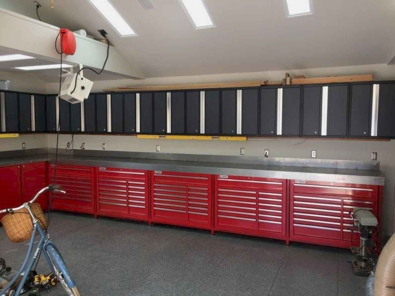 Smart Garage Organization Ideas On A Budget 1 Homeideas Co Budget Garage H Bu In 2020 Overhead Garage Storage Garage Storage Shelves Home Depot Garage Storage
