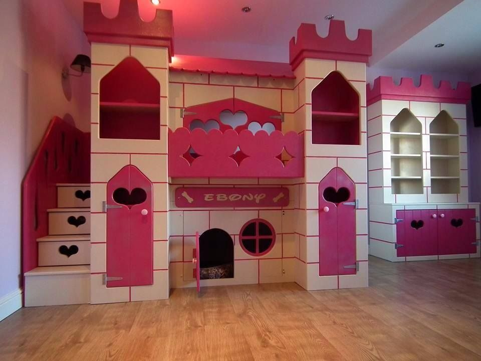 This Gorgeous Pink Princess Castle Bed Is Truly Unique