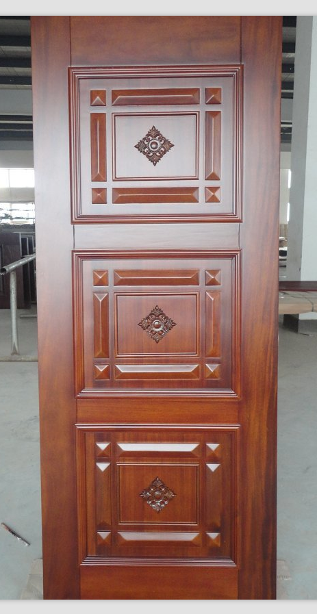 Door With Architrave Wood Door Factory And New Design