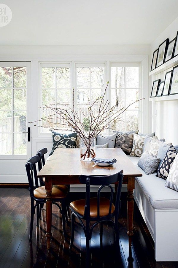 Cool Salle À Manger - Ditch The Dining Room, These 6 Breakfast Nooks