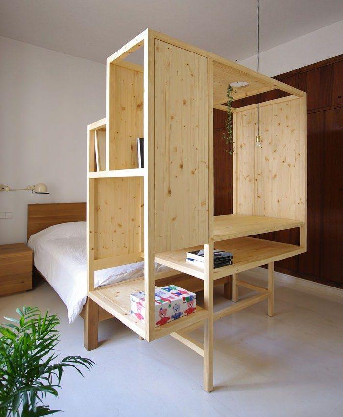 Aina meuble multifonctions par ted 39 a arquitectes mobilier pinterest mobilier mobilier de - Meuble multifonction ...