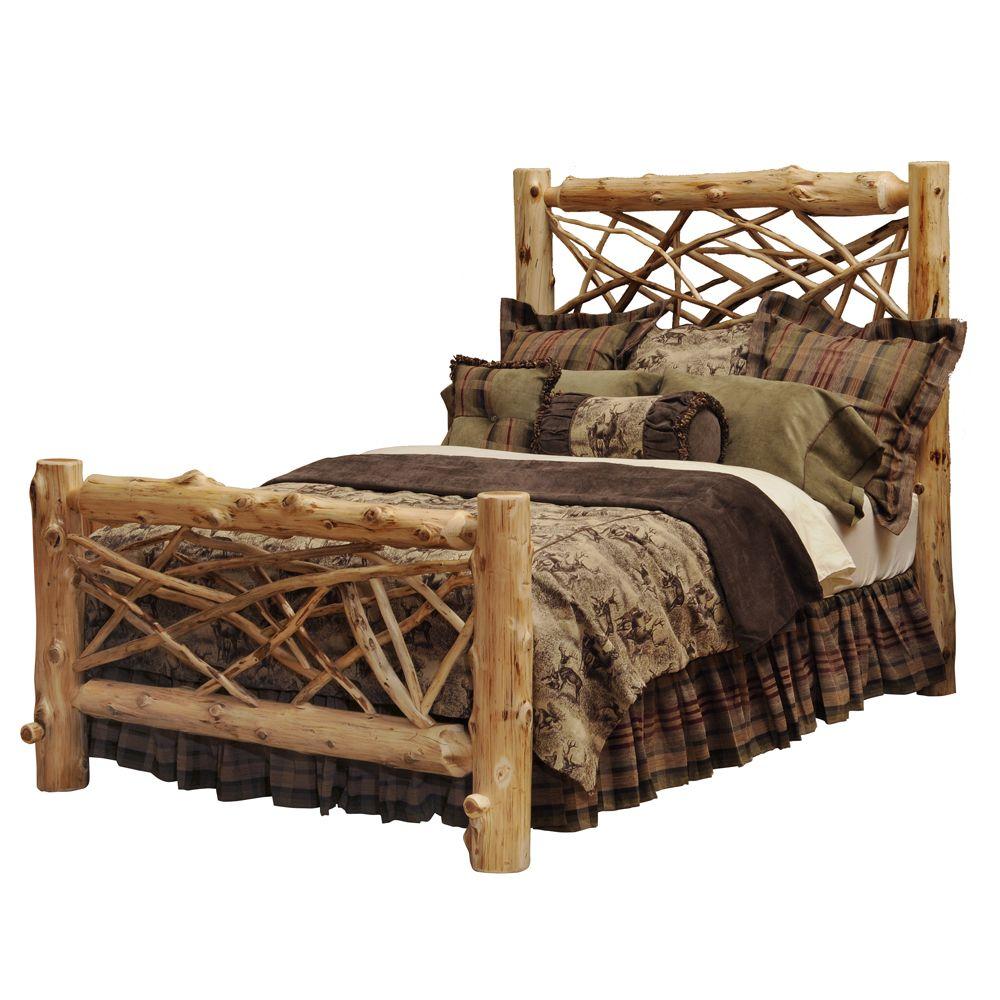 White cedar twig bed see swtradingcompany white cedar