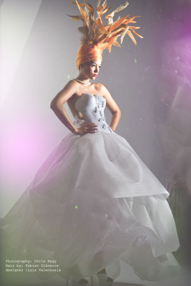 Wonderland  Photography: Chris Nagy  Hair by: Fabian Cisneros  designer :Luis Valenzuela  #Black   #fashion #fashion #design #photography #style #avantgarde #clothes #dress #hair   #editorial