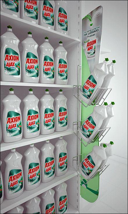 Ajax Axion Sidekick Wire Merchandiser Aux