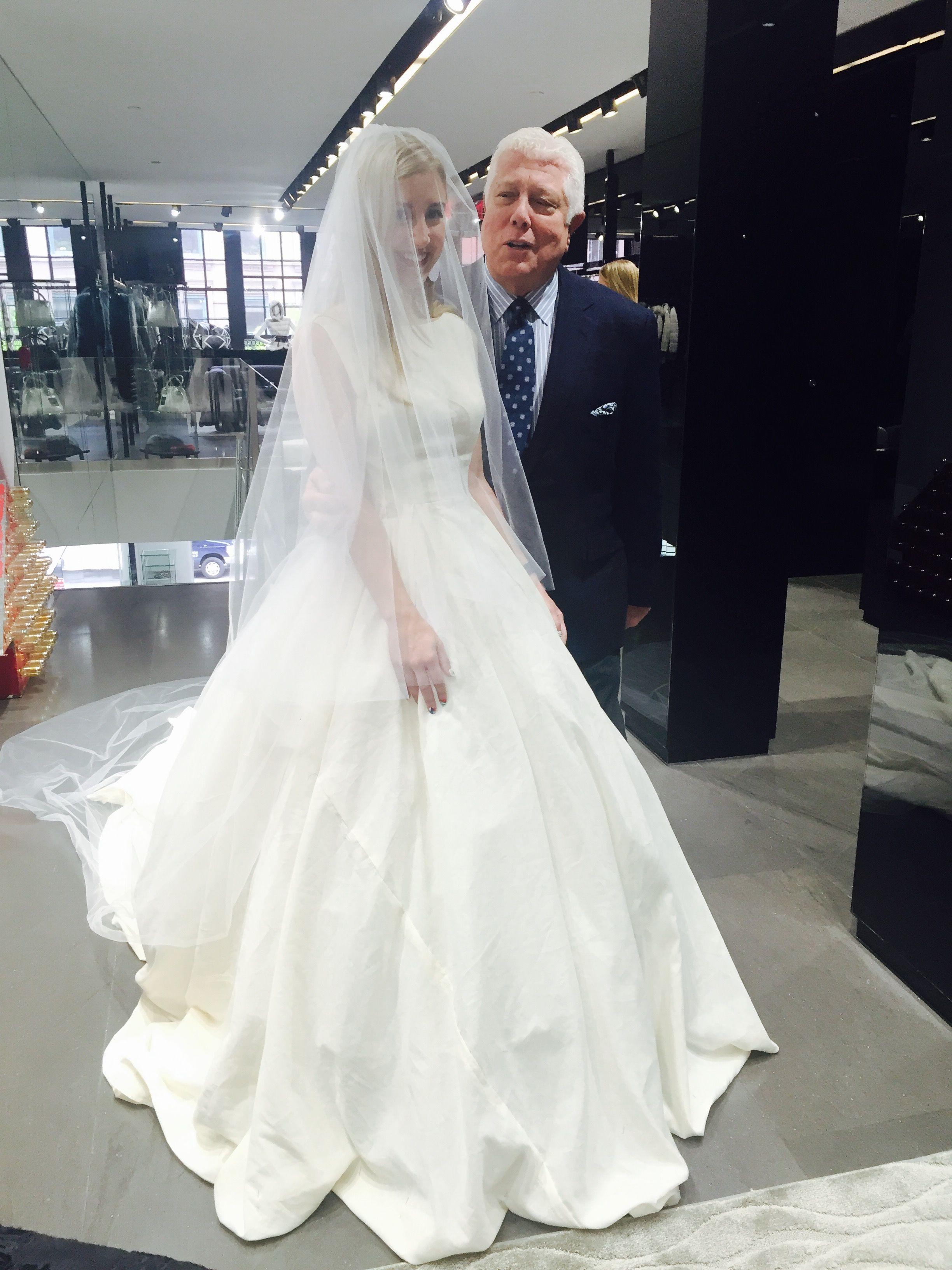 Designing My Wedding Dress with Dennis Basso | Pinterest | Dennis ...