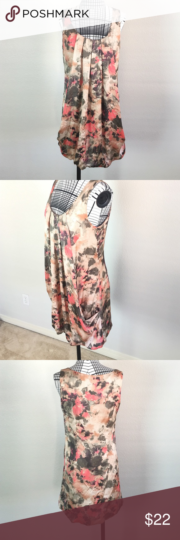 H&m pink pleated dress  HuM Bubble Dress  Pinterest  Flaws and Conditioner