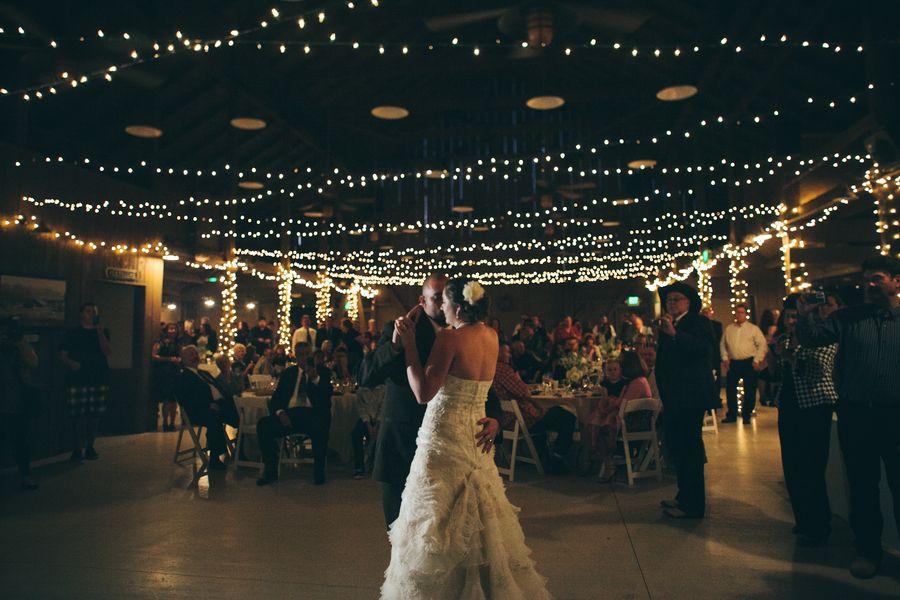 barn wedding lighting. california barn wedding at camarillo ranch lighting