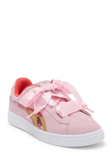 online store a5af8 be236 Suede Heart Trailblazer Sneaker (Toddler & Little Kid ...