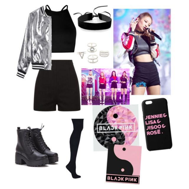 Blackpink inspired outfit Jennie#badgirls | Outfits | Pinterest | Discotecas Tela y Ropa