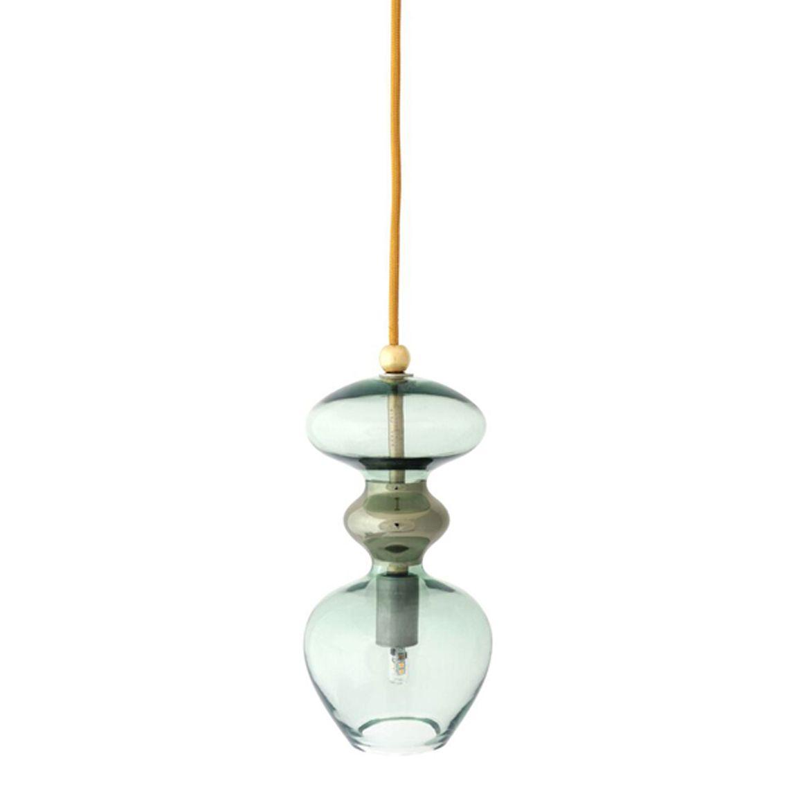 Futura Pendant Forest Green Pendant Lamp Lamp Ceiling Rose