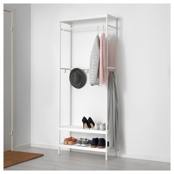 ikea coat and shoe rack