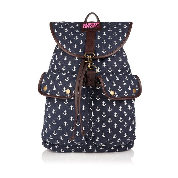 Superdry Bibra Rucksack (€44) ❤ liked on Polyvore featuring bags ... : superdry quilted rucksack - Adamdwight.com