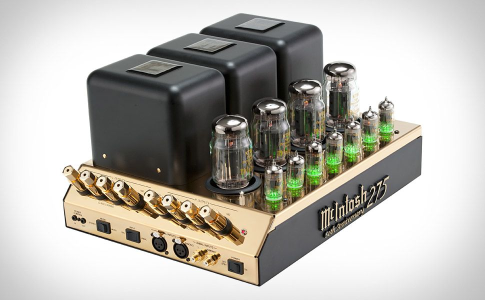 Mcintosh 50th Anniversary Mc275 Tube Amplifier Mcintosh