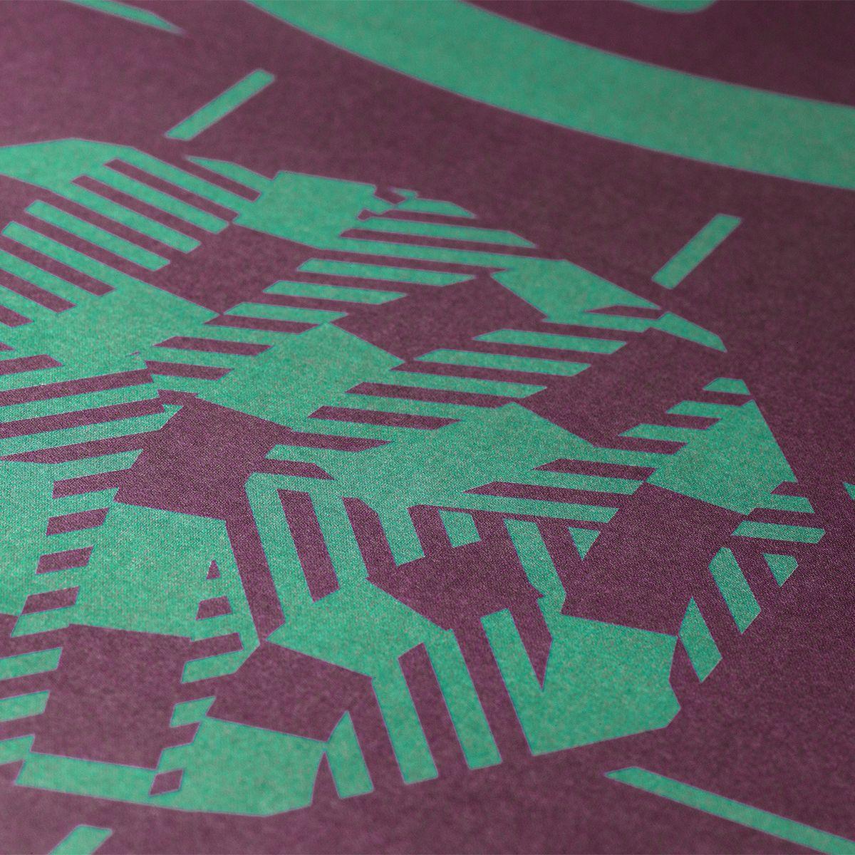 Print designed by Richard Hogg for Strut and Fibre's Ambassador Collection.