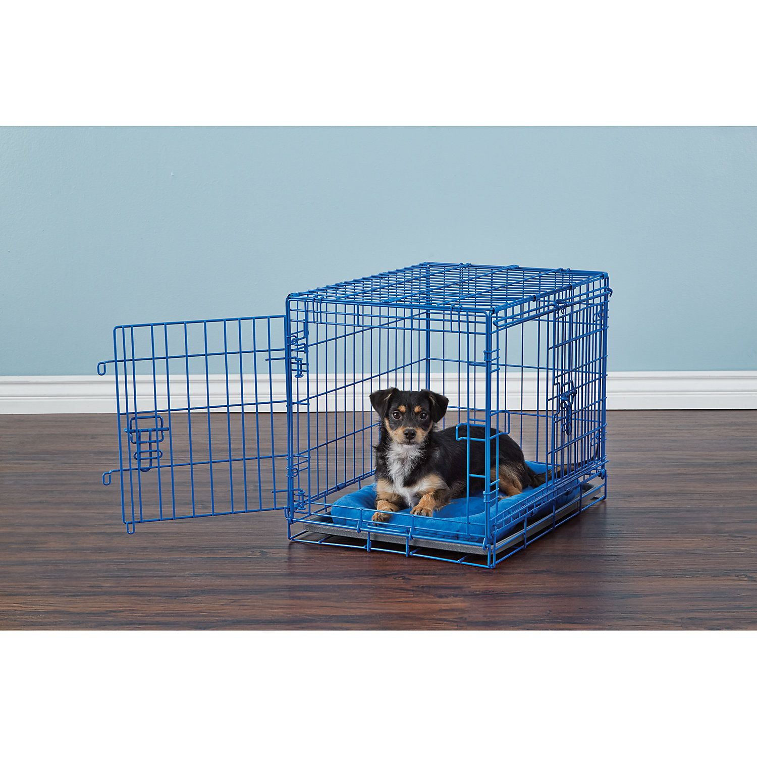 You Me 2 Door Training Crate Blue Dog Crate Large Dog Crate