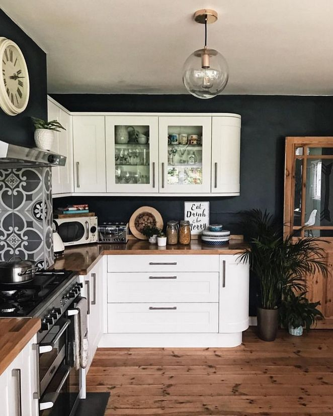43 why everyone is talking about dark blue dining room