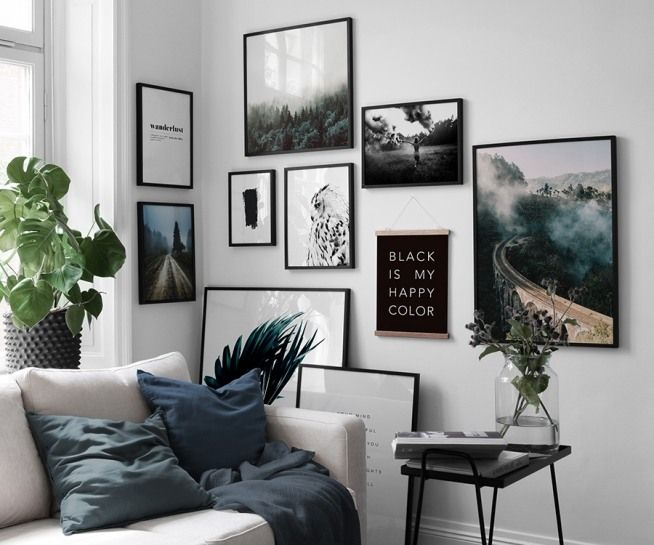 Happy Color Affiche Dans Le Groupe Affiches Formats 30x40cm Chez