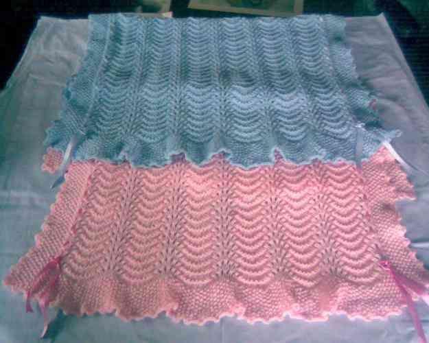 Mantillas para bebé tejidas al crochet patrones - Imagui | mantas ...