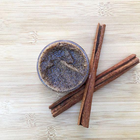 Chai Tea Brown Sugar Body Scrub / Organic + Vegan Sugar Scrub / Natural Body Polish / Gift for Her  4.5 oz + 8.5 oz