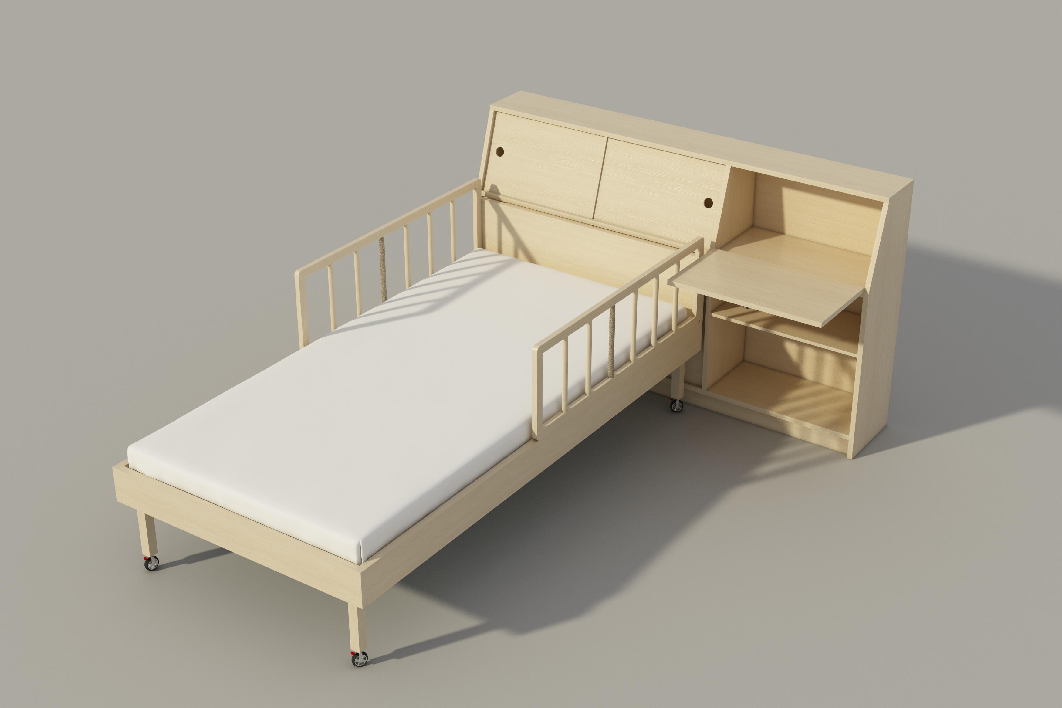 Best Single Bed Storage Headboard Plans Diy Night Stand Chest 400 x 300