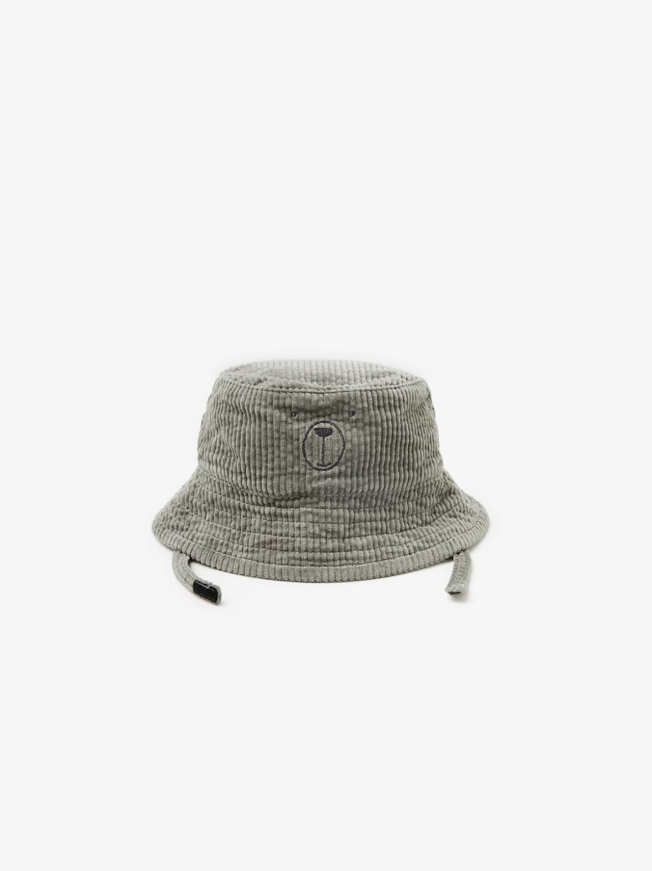 Embroidered Corduroy Bucket Hat View All Baby Girl Accessories Kids Zara United States Zara Kids Toddler Bucket Hat Bucket Hat