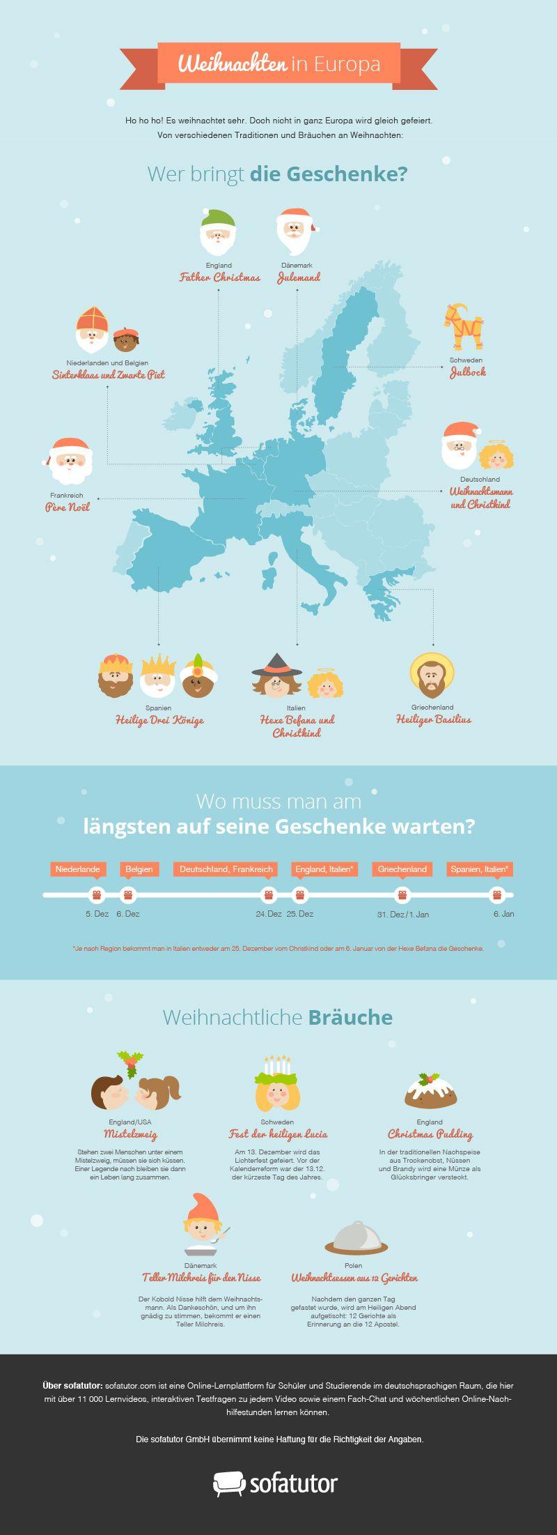 pin von auf infografiken weihnachtsbr uche weihnachten europa und. Black Bedroom Furniture Sets. Home Design Ideas