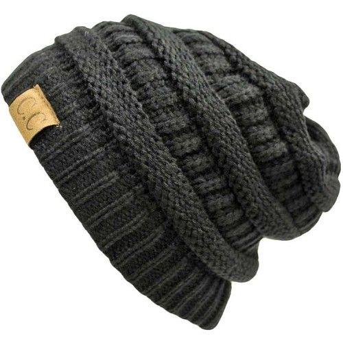 Hombre Gorro de Punto Slouch Beanie Knit Invierno Verano Hat 3nP9q8