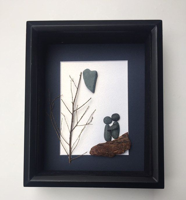 Sharon Nowlan Pebble Framed Art by Demdaco THE LITTLE THINGS SNC-018