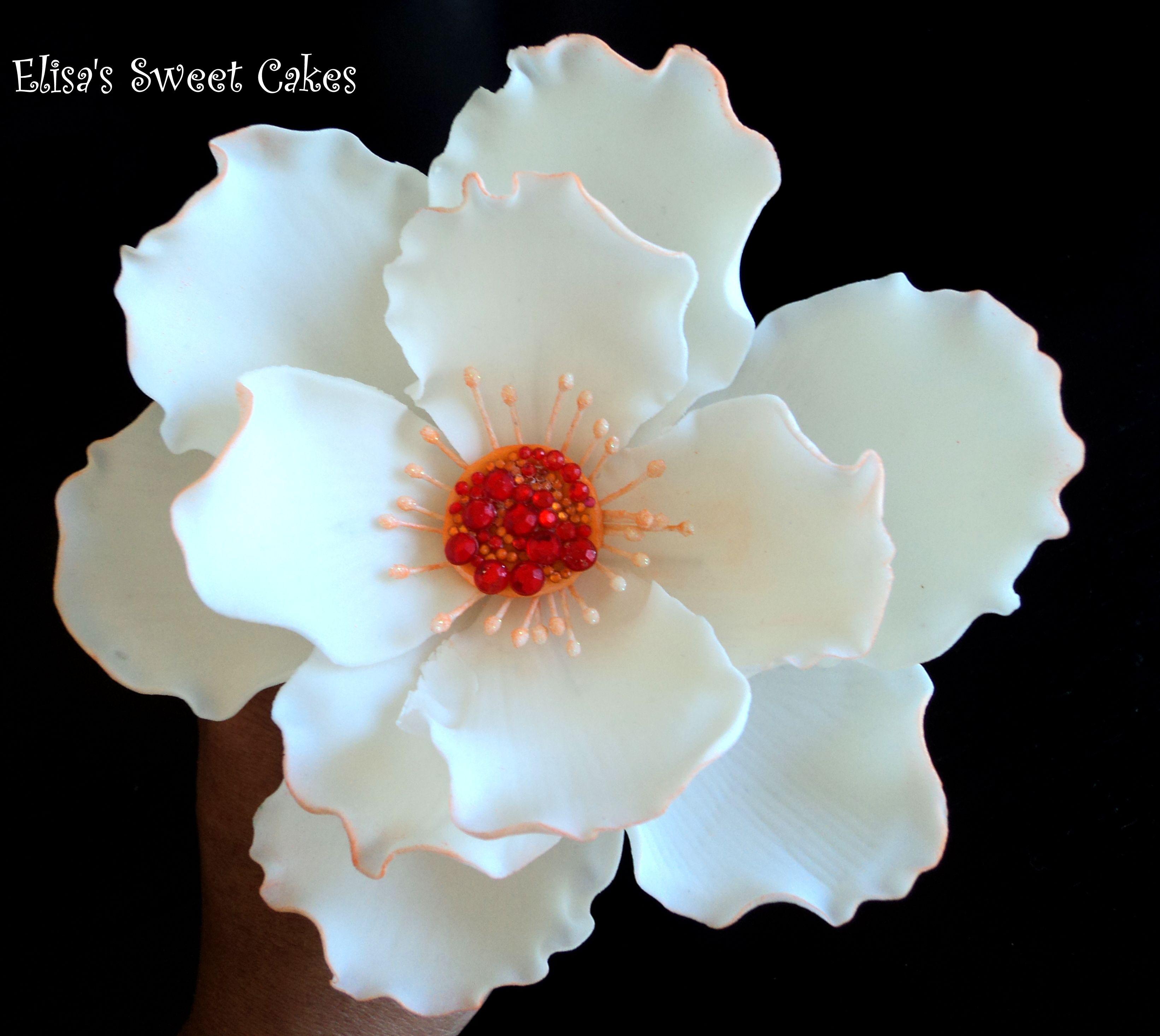Gumpaste flower nature pinterest bling flower and sugar flowers gumpaste flower izmirmasajfo