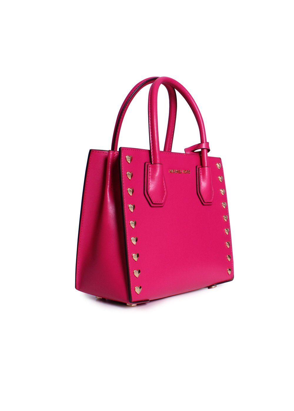 42ef752b623a Michael Kors Mercer Medium Heart Studded Messenger Bag Ultra Pink     Be  sure to check out this awesome product. (This is an affiliate link) 0