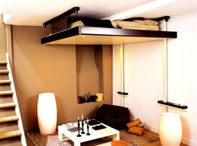 Bien connu Lit amovible espace logia | meuble | Pinterest | Gain de place  EL45