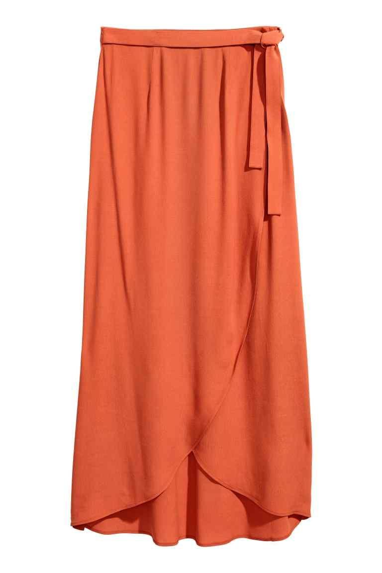 87d01d280 Falda larga cruzada | Vestidos | Etek modelleri, Etek ve Kıyafet