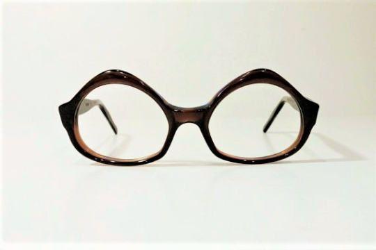 6c230bdfc6df Vintage 1960 s Swank Brown Tortoise Cat Eyeglass Frames