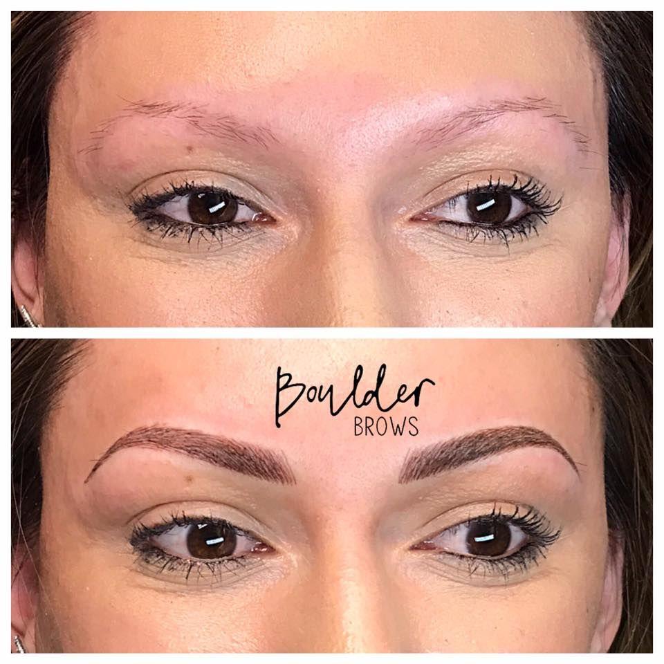 MICROBLADING Eyebrow Tattoo Permanent Makeup