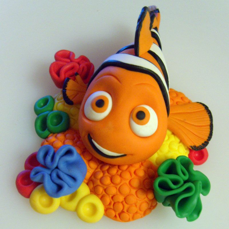 Nemo Cake: Pin By BubbasPlayNClay On Cute Clay By Others