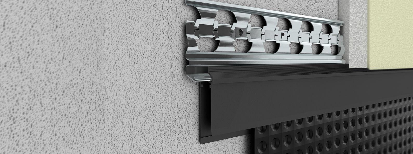 bildergebnis f r abschlu leiste noppenbahn noppenbahn abschluss bahn und ergebnisse. Black Bedroom Furniture Sets. Home Design Ideas