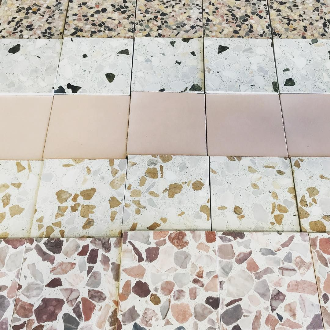 Enjoy Some Fun Colored Speckled Terrazzo Sample Inspo For The