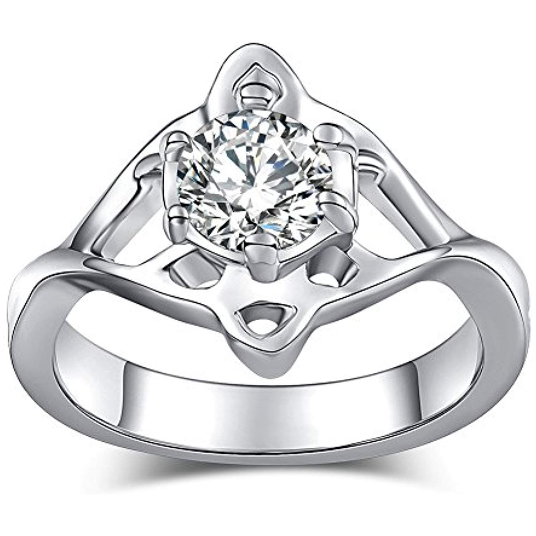 Celtic Rings for Women Antique Viking Simulated Diamond