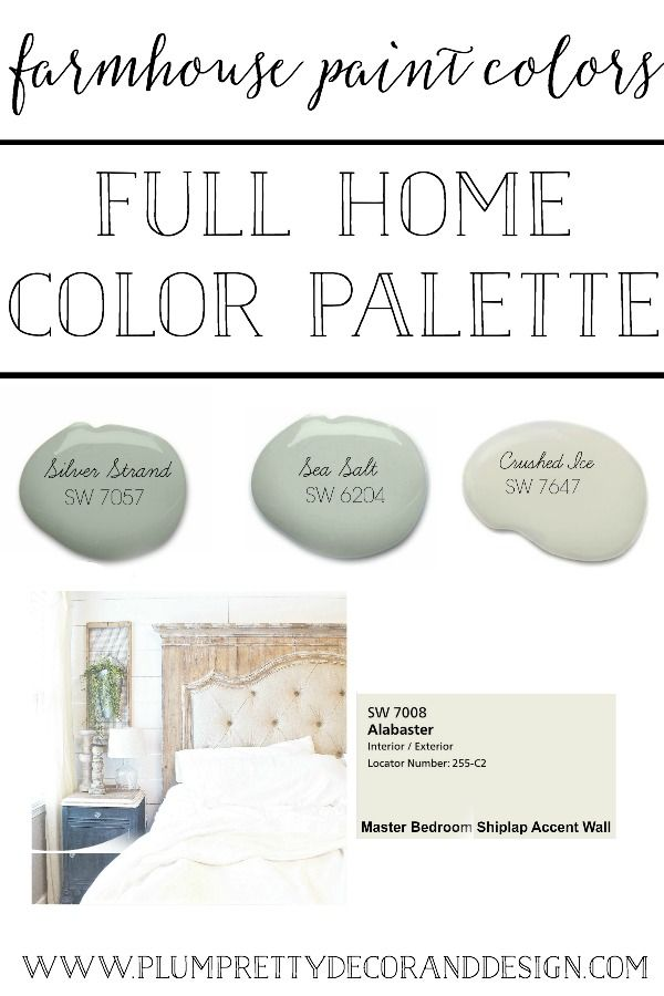 Plum Pretty Decor Design Co Farmhouse Paint Colors The Paint Colors I Used In Each Room Of My House Farmhouse Paint Farm House Colors Interior Paint Colors For Living Room