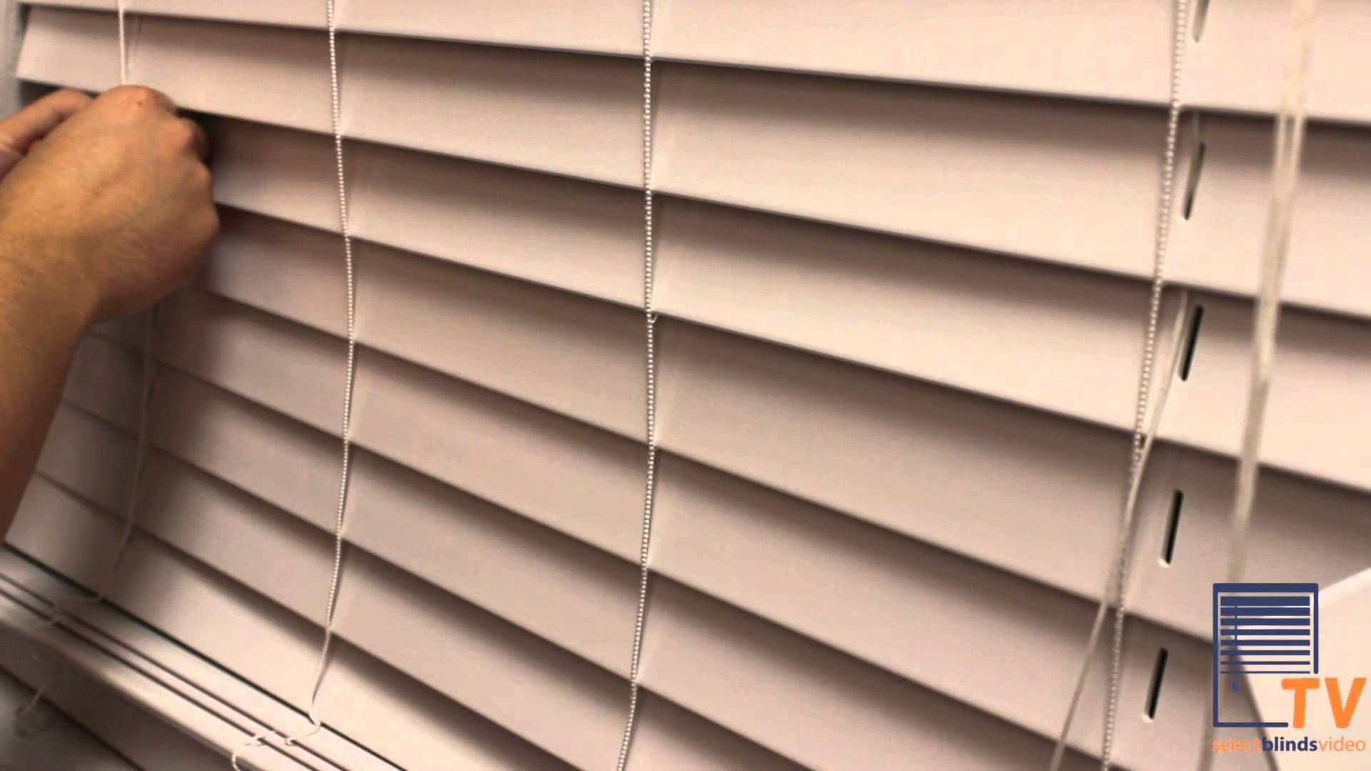 How to change the slats on your window blinds from