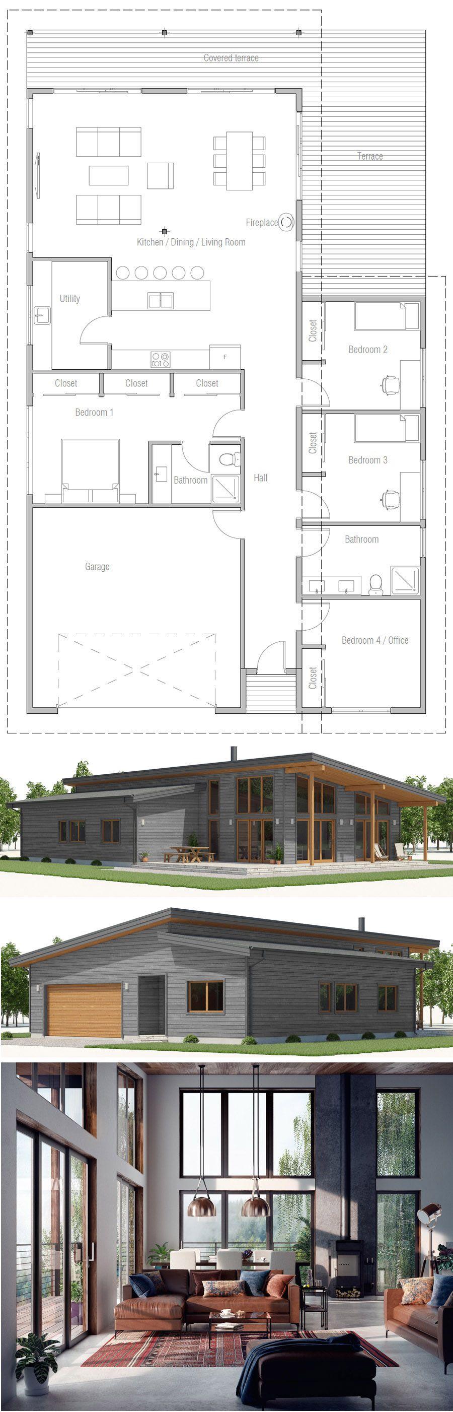 Floor plan architecture homedecor adhouseplans also simple rh pinterest