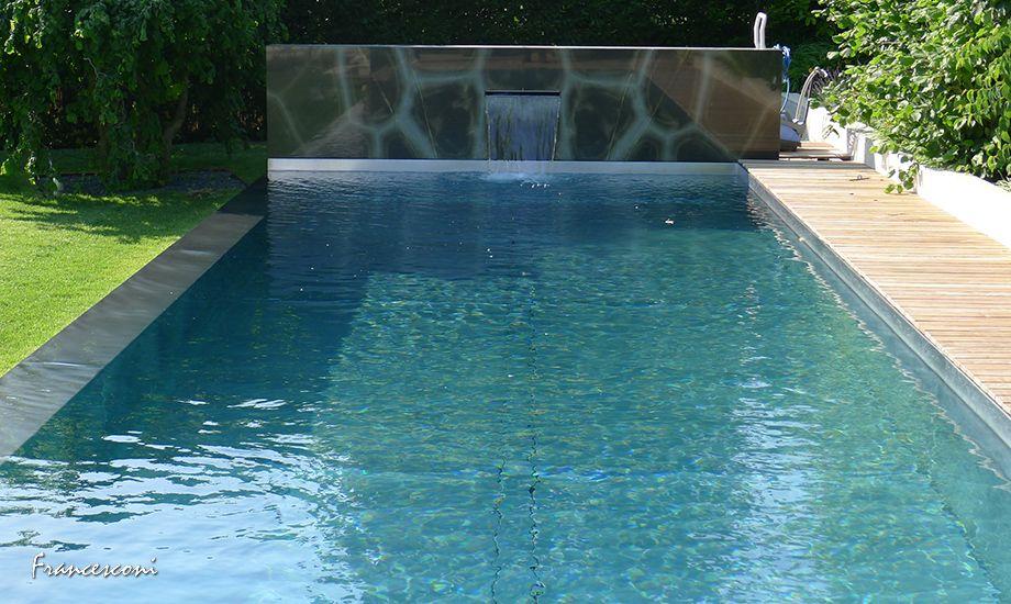 Schwimmbecken und Pools aus hochwertigem Edelstahl  Villa Klu