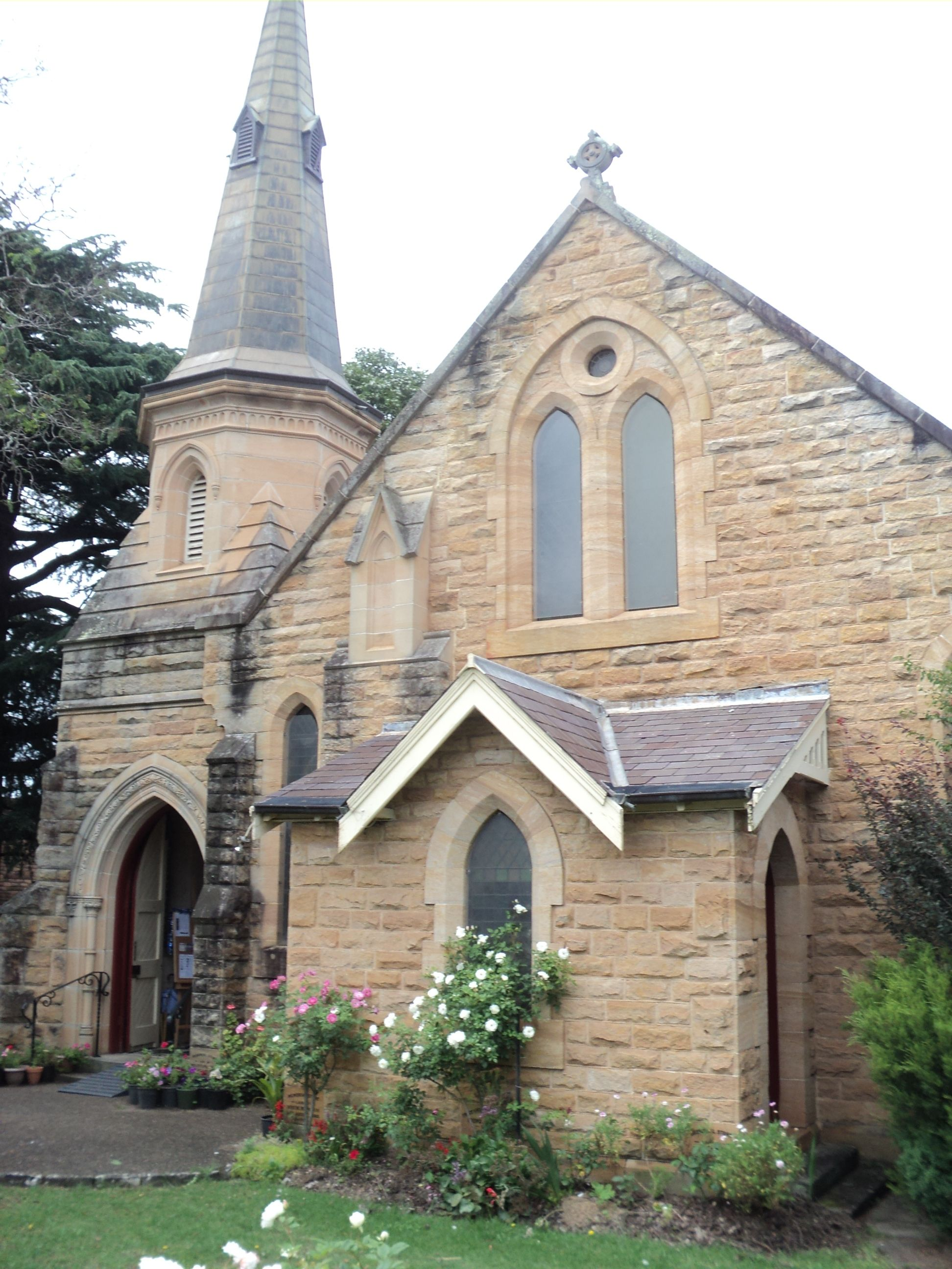 Beautiful old church. Springwood (Blue Mountains NSW ...