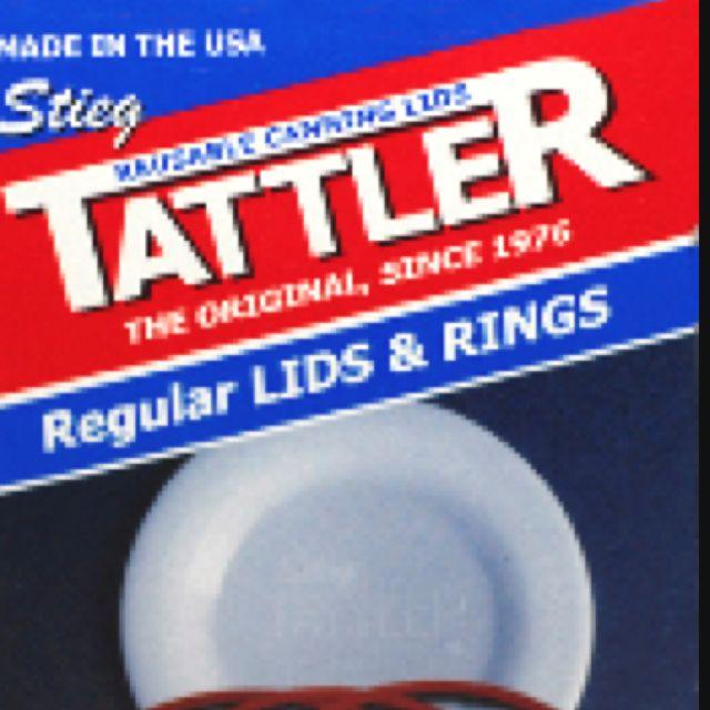 Tattler reusable BPA free canning jar lids