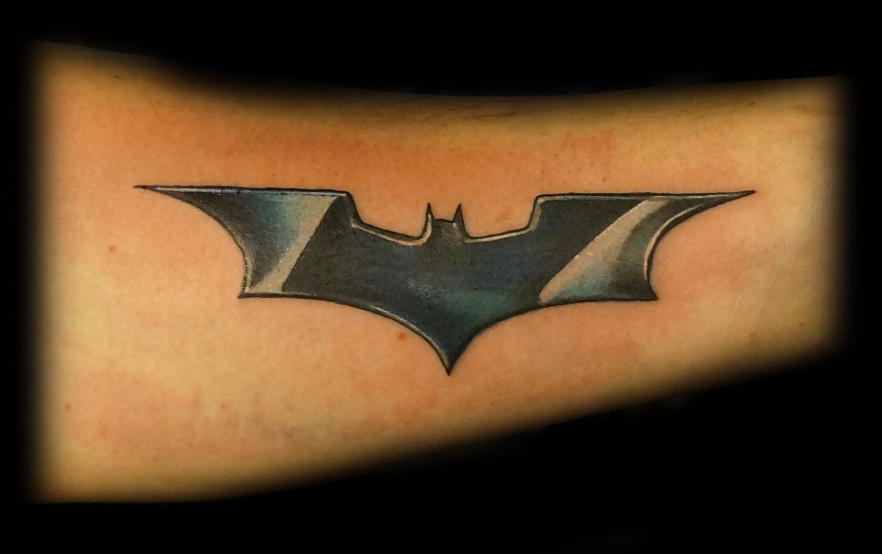 Dark Knight Logo Batman Tattoo Tattoos Leaf Tattoos