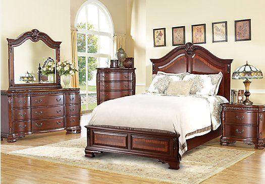 Cortinella 5 Pc Queen Panel Bedroom King Size Bedroom Furniture